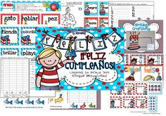 Go to my blog for a chance to win this unit in SPANISH for FREE!!!  This packet contains the following 6 center games: English Language Arts: [1] Nouns vs. Verbs in SPANISH [2] ABC order in SPANISH [3] Writing Craftivity in SPANISH: Write about your favorite birthday and create a fun birthday cake!  Math: [1] Fishy Probability in SPANISH: [2] addition and subtraction cards (with regrouping and without regrouping) in SPANISH, [3] Hooray for Arrays! in SPANISH