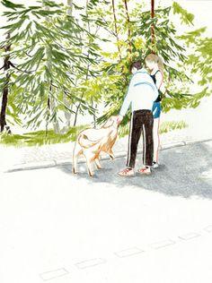 Yuriko Itani (Illustrator danny) cocomidori Pastel Drawing, Painting & Drawing, Graphic Design Illustration, Illustration Art, Drawing Sketches, Art Drawings, Coloured Pencils, Color Pencil Art, Drawing Techniques
