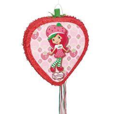 Strawberry Shortcake Pinata - Birthday and Theme Party Supplies SmileMakers http://www.amazon.com/dp/B00JRE09JM/ref=cm_sw_r_pi_dp_DqRjwb1YR1M2Z