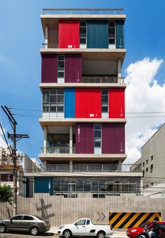 BOX 298, São Paulo, 2009 - Andrade Morettin Arquitetos #colours #brazil #architecture