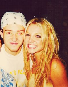 brit and justin back in the day