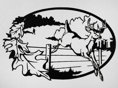 Buck Deer - Metal Wall Art