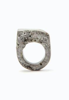 Jade Mellor Granite Resin Ring