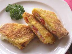 Cordon bleu léger Weight Watchers, un délicieux cordon bleu aux tomates séchées, facile à faire pour un dîner rapide et léger.