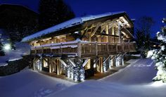 Introducing the stunning Chalet Brickell from The Luxury Chalet Collection. #luxe #megeve