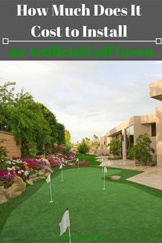 How Much Does It Cost to Install an Artificial Golf Green? http://www.heavenlygreens.com/blog/how-much-does-it-cost-to-install-an-artificial-golf-green @heavenlygreens