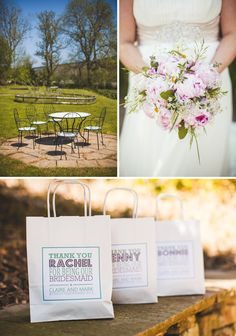 Wedding bags by dotty hens featured on rock my wedding