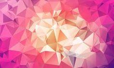 Resultado de imagen de pink low poly background