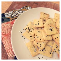 Snack Crackers fresh from the oven