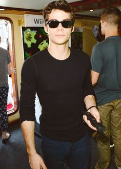 Dylan O'Brien at the Wii at SDCC'13