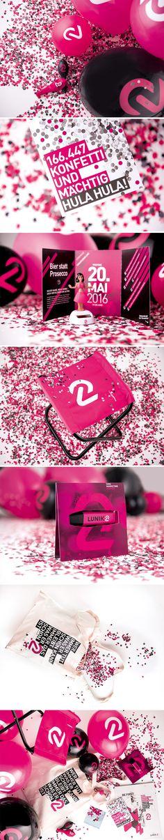 LUNIK2 // Event Werbemittel by www.lunik2.com #lunik2 #l2 #werbemittel #pink…