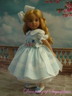 "~ OOAK ~ Sing A Sweet Spring Song ~ For Effner 13"" Little Darling By Sugarplums"