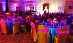 Gorgeous #hindu #wedding #reception set @- Dunes Resort! #weddingwednesday #wilddunesweddings