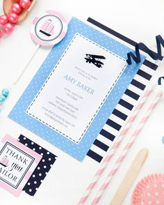 Airplane Party Collection by Paige Simple   photo by Shay Cochrane Photography