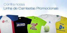 Camisetas Promocionais:Varias estampas