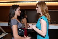 Actresses Meghan Markle (L) and Sarah Rafferty attend the FINCA Canada Fundraiser At TIFF 2012 during the Toronto International Film Festival on September 11, 2012 in Toronto, Canada.
