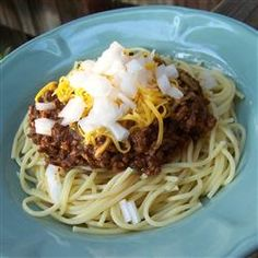 {I reviewed this - JCC} Cincinnati Chili I Allrecipes.com