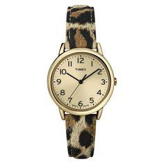 animal print watch / timex