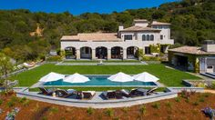 Breaktaking! Bella Vista is situated on a bluff above the Sonoma Valley with breathtaking panoramic views of the SF Bay and hills. The estate is a masterpiece designed by renowned architect Conrad Sanchez. What a great place in which to kick off the week. http://pacunion.us/2120lovall_valley Listed at $9,500,000