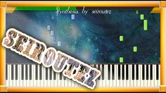 [Synthesia][MIDI][Piano] c TwoPartInventionNo8InF HarpSound