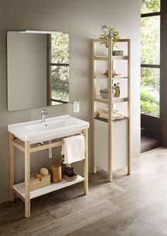 Natura | Soluciones lavabo y mueble | Colecciones | Roca