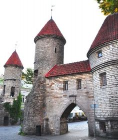 Tallinn Gates, Estonia