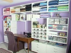 craft rooms using ikea furniture | but every crafter longs for a nice organised space for their addiction ...