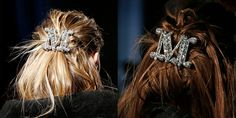 Monogrammed Hair Clips- ellemag
