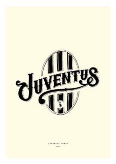 Juventus by Alexis TYRSA Football Icon, Football Art, Best Club, Juventus Fc, Logo Design, Typography, Logos, T Shirt, Soccer Teams