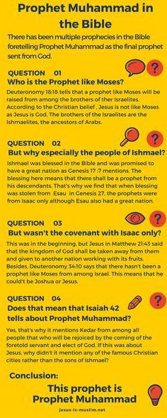 #Prophet #Muhammad in the #Bible