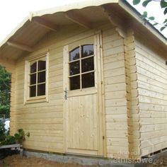 Drewniany domek narzędziowy (Wooden house) Monika B 6,9 m2
