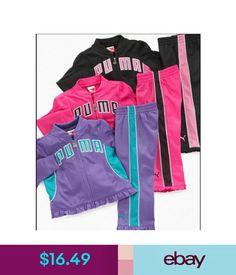 Girls  Clothing (Newborn-5T) Nwt Girls Puma Tricot Jacket Pants Winter  Outfit 376b048f8