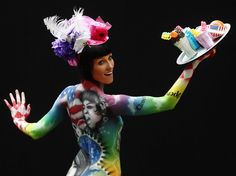 Austria World Bodypainting Festival Pictures - Business Insider