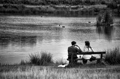 Couple by the lake by Richard Stratton on 500px