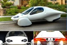eco-friendly and unusual car