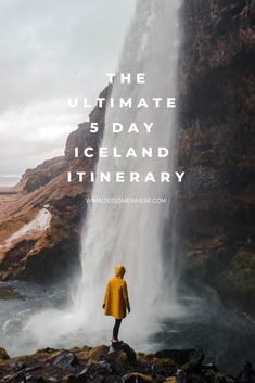 Ultimate 5 Day Iceland Itinerary How to see the best of Iceland in 5 days.How to see the best of Iceland in 5 days. Iceland Travel Tips, Europe Travel Tips, Travel Goals, European Travel, Travel Guides, Places To Travel, Places To See, Travel Destinations, Instagram Inspiration