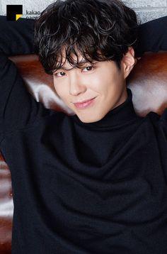 """""""park bogum for kakao page ✧ xx bogum vs. oo bogum (unreleased x """" Korean Men, Asian Men, Asian Actors, Korean Actors, Korean Dramas, Park Bo Gum, Perm, Trending Photos, Celebs"""
