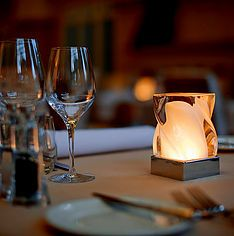 Cordless battery operated lamps that create the finest ambience in your hotel, restaurant, bar or home. Dining Table Lighting, Formal Dining Tables, Light Table, Cordless Table Lamps, Lamp Table, Battery Operated Lamps, Restaurant Table Tops, Rustic Floor Lamps, Ginger Jar Lamp