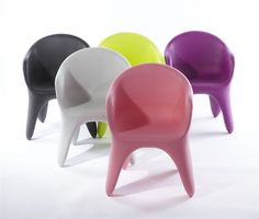 Inspiring Karim Rashid Furniture For Contemporary Interior Home Decor: Karim Rashid Furniture As XO Bite Me Chairs For Kids Room Decor Ideas