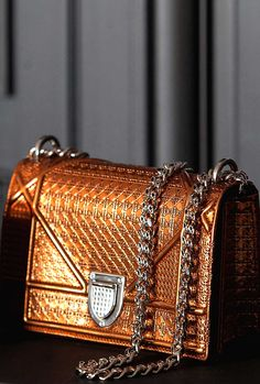 Copper luxury bag #Luxurydotcom