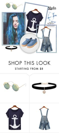 """Shein 36"" by zerina913 ❤ liked on Polyvore featuring Full Tilt, Betsey Johnson and shein"