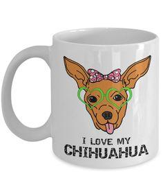Chihuahua Chihuahua, Coffee Mugs, My Love, Prints, Coffee Cups, Chihuahua Dogs, Chihuahuas, Coffeecup