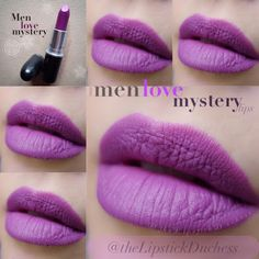 MAC Matte lipstick Men Love Mystery
