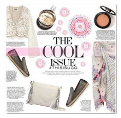 """Play With Prints In UGG: Contest Entry"" by hafsahshead ❤ liked on Polyvore featuring UGG Australia, Accessorize, Stone_Cold_Fox and Chanel"