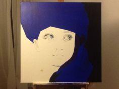 canvas 70x70cm, acryl