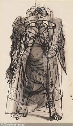 LEBRUN Rico - Standing Figure