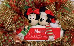 Mickey and Minnie Mouse Merry Christmas by CountyLineCreations3