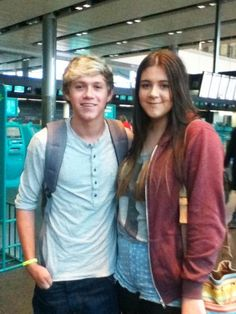 Niall and a fan