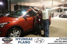 #HappyAnniversary to David Baker on your 2014 #Hyundai #Santa Fe Sport from Nick Donahue at Huffines Hyundai Plano!