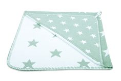 Bathcape - Star sea green/white  by Baby's Only - www.babysonly.nl